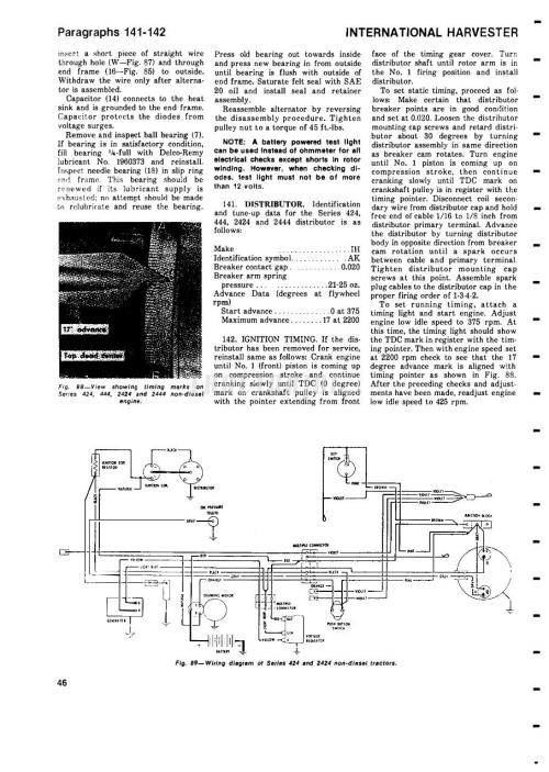 small resolution of international 384 wiring diagram wiring diagram autovehicle ih tractor b275 b414 354 364 384