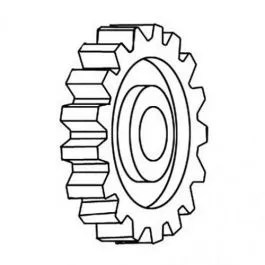 Crankshaft Gear Compatible with Massey Ferguson 30 255 65
