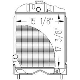Radiator Massey Ferguson 35 35X 894357M92