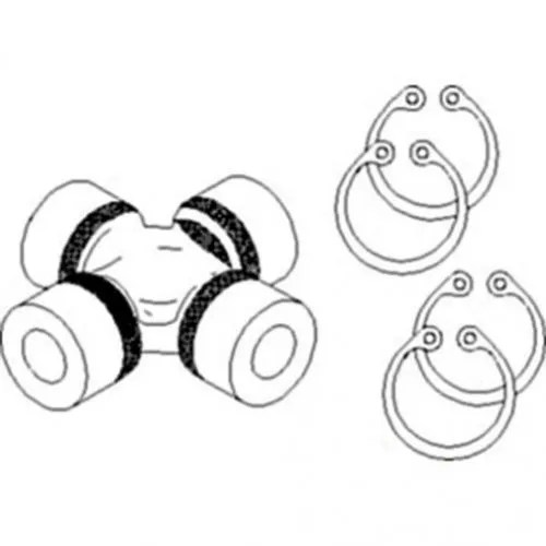 Cross And Bearing Kit Case IH MX150 MX120 MX100 MX110