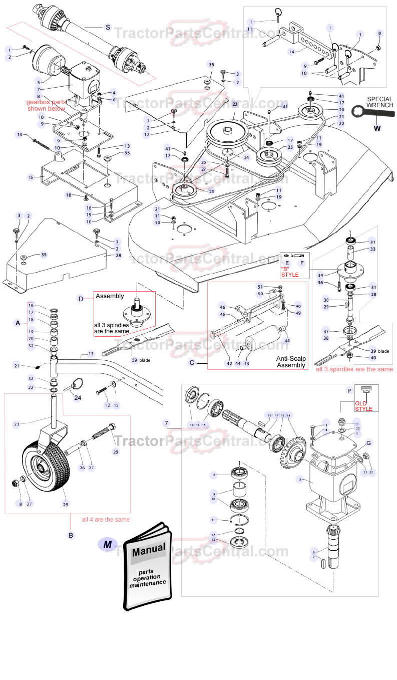 Kuhn Cutter Parts • Wiring And Engine Diagram