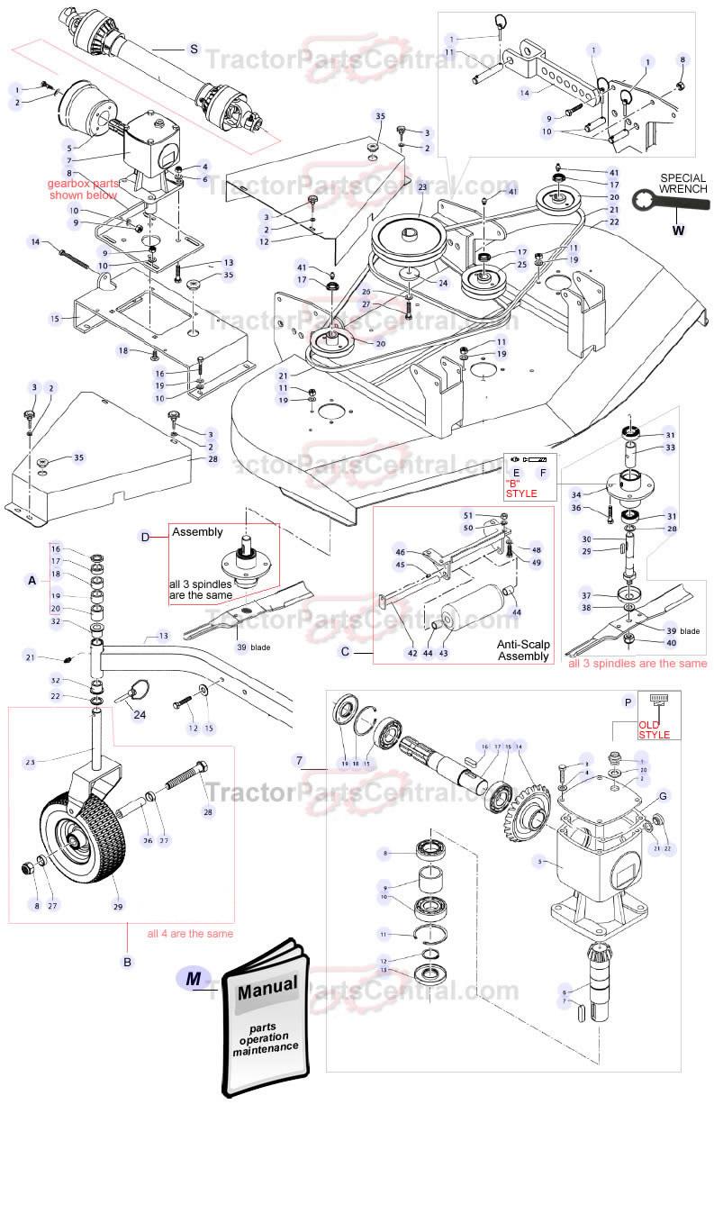 Bush Hog Rotary Cutter Parts Diagram, Bush, Free Engine