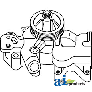 TP Parts 1 A-87800714 Ford-New-Holland WATER PUMP Tractor