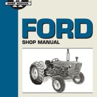 Ford Shop Manual Series 2000 3000&4000 < 1975 (I & T Shopservice)