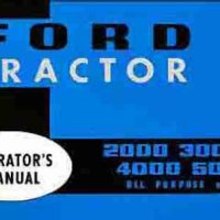 FORD TRACTOR OWNER MANUAL 1965 1966 1967 1968 1969 1970 1971 1972 1973 1974 1975