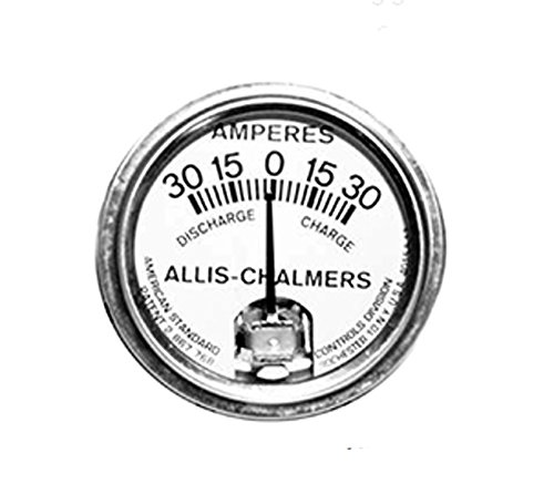 RTP Allis Chalmers Tractors Ammeter 30-30 Style White Face