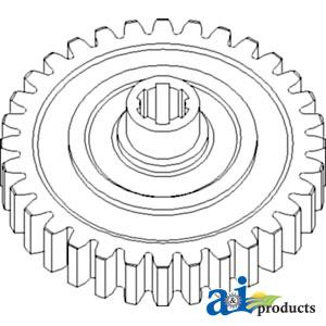 TP Parts 1 A-681627 International-Harvester-Combine GEAR