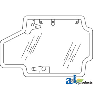 A-84415734G New-Holland DOOR ASSEMBLY GLASS Tractor Part