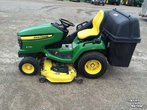 small resolution of mower self propelled john deere x534 4wd 3 blades lawn mower tractor ontario