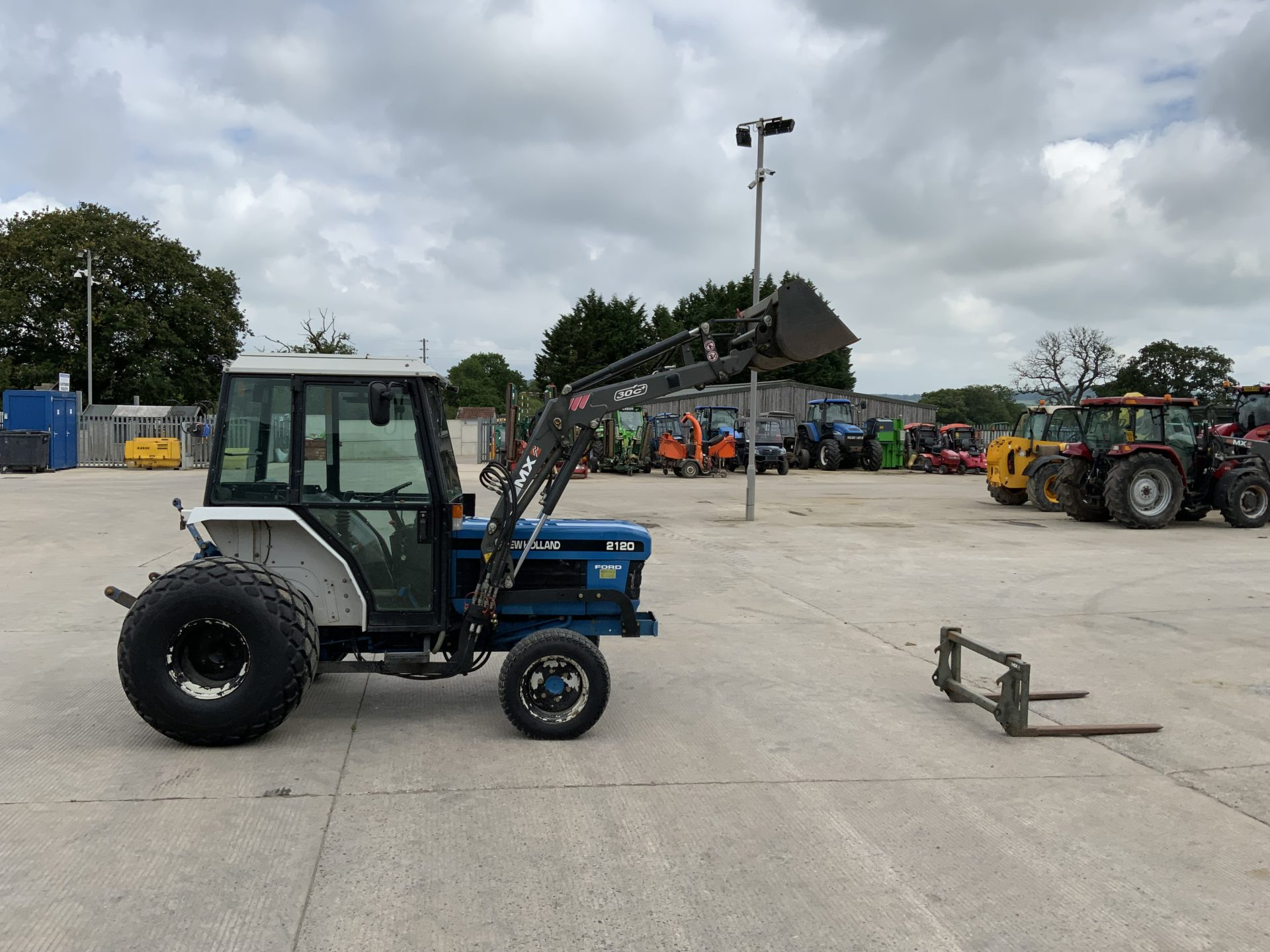 New holland, the clean energy. New Holland Ford 2120 Compact Tractor St10569 Rj And Kd Mclean Ltd Tractors And Plant