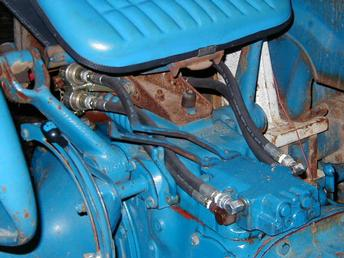 Ford 5000 Diesel Tractor Wiring Diagram Tisco Brand 2 Spool Double Action Valve For Ford Tractors