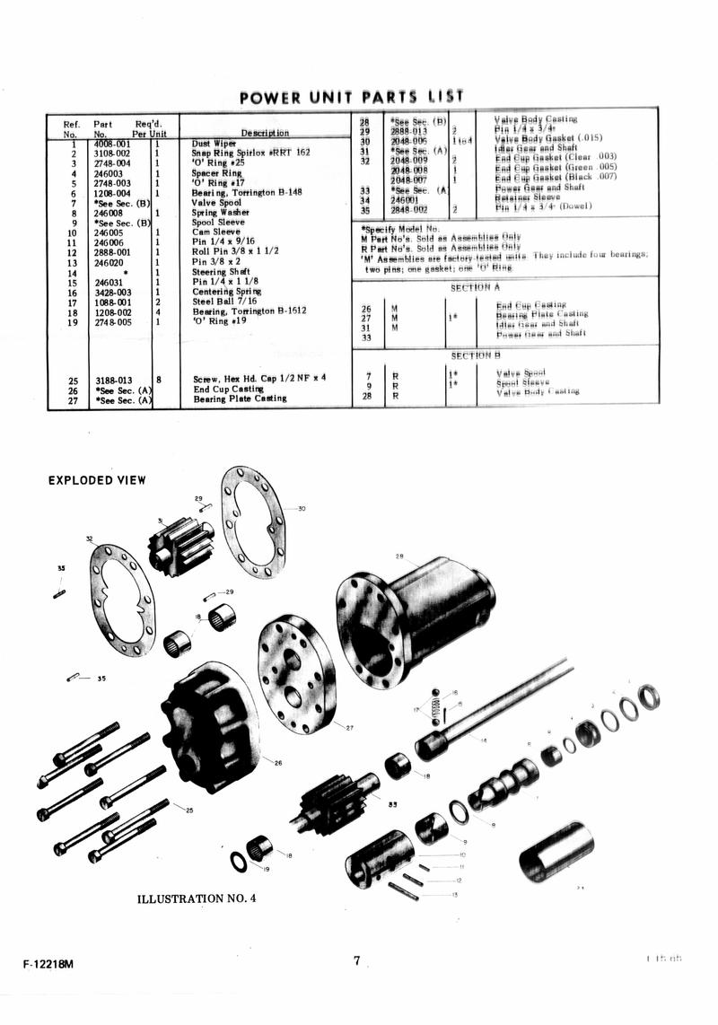 Behlen Power Steering Service Manual Page 8 (2005-03-17