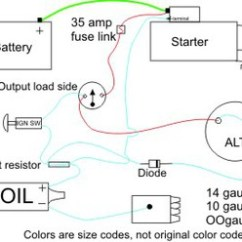 Farmall H Wiring Diagram Conversion Osi Model In Networking With Alternator Diode Question - Yesterday's Tractors