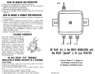 John Deere 720 Wiring Diagram Ford 9n 2n Amp 8n Discussion Board Re Polarizing A Generator