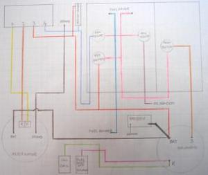 Farmall 656 1967 Gas Non Hydro  Wiring Diagram As Fitted