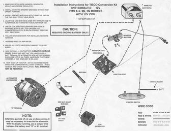 ford 8n generator wiring diagram easy origami car 12 volt conversion 41 images v4357 for 9n 2n readingrat net