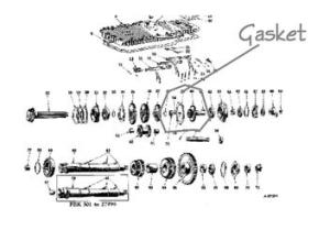 Farmall M Trans Diagram  Trans Layout  TractorShed