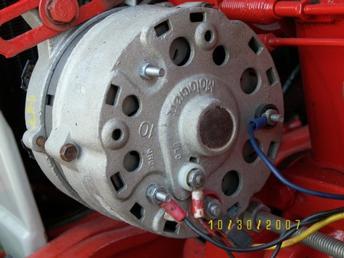 ford alternator wiring diagram external regulator meyer snow plow e47 12v motorcraft not charging - forum yesterday's tractors