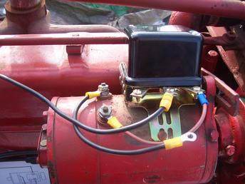 Farmall 140 12v Wiring Diagram Farmall H Generator And Regulator Yesterday S Tractors