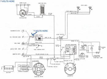 MF 135 W Z 145 Gas Engine Wiring Diagram TractorShed Com