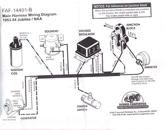 Ford Naa Generator Wiring Diagram. Ford. Auto Parts