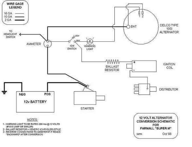 ford 8n alternator conversion diagram