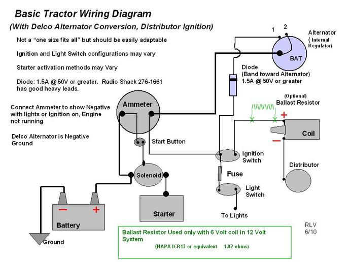 allis chalmers model b wiring diagram 12 volt oliver 60 need help !!! - oliver, cletrac, coop and cockshutt forum yesterday's tractors