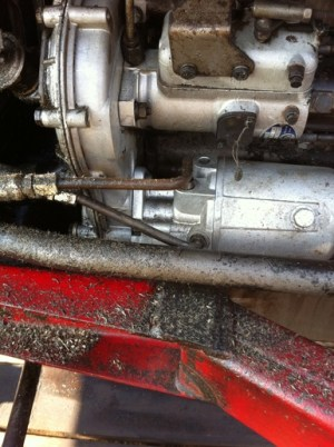 Massey 165 power steering leak  Yesterday's Tractors
