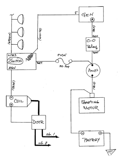 Wiring Schematic For JD 60 Generator Yesterday's Tractors