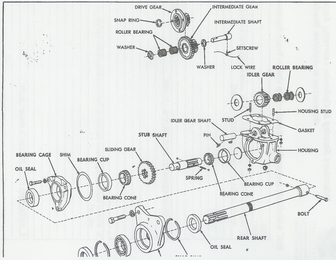 allis chalmers wd service manual