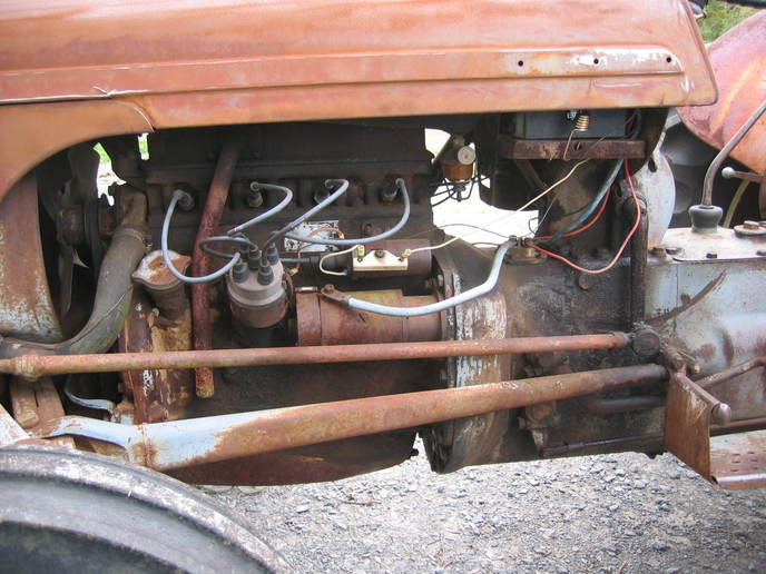 Ford Tractor 12v Wiring Diagram On Wiring Harness Ford 8n Tractor