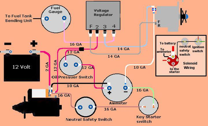 case 446 tractor wiring diagram 2005 vw touareg stereo 1948 great installation of diesel ignition switch somurich com old