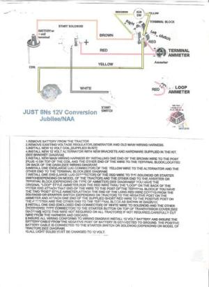 Wiring Diagram for Ford NAA tractor  Ford Forum