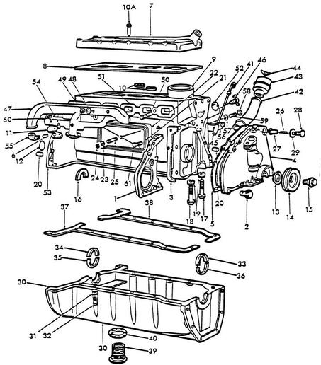 Ford 8n crank specs