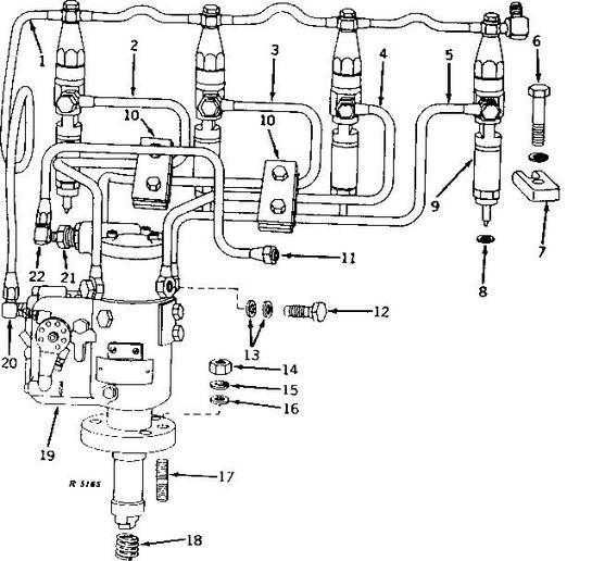 5020 John Deere Fuel Pump Diagram, 5020, Free Engine Image