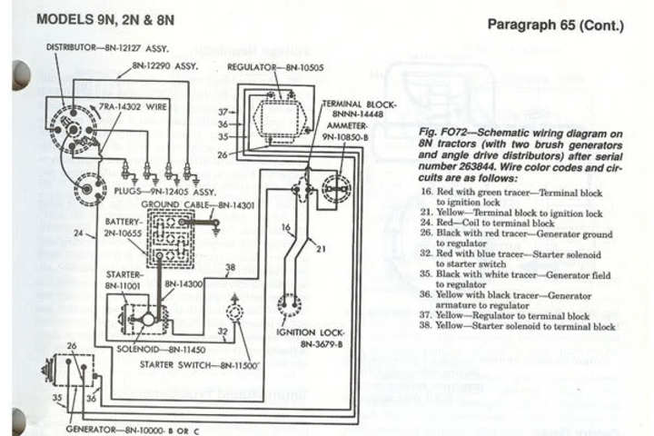 ford 8n 12v conversion wiring diagram electronic 6 to 12 volt we block generator
