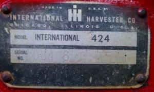 Need a Wiring Diagram  IH 424 Diesel  Yesterday's Tractors