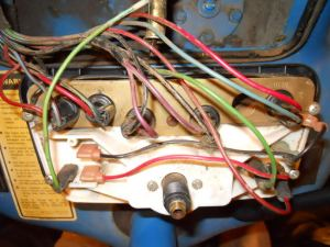Ford 3000 Instrument Panel Wiring  Ford Forum  Yesterday's Tractors