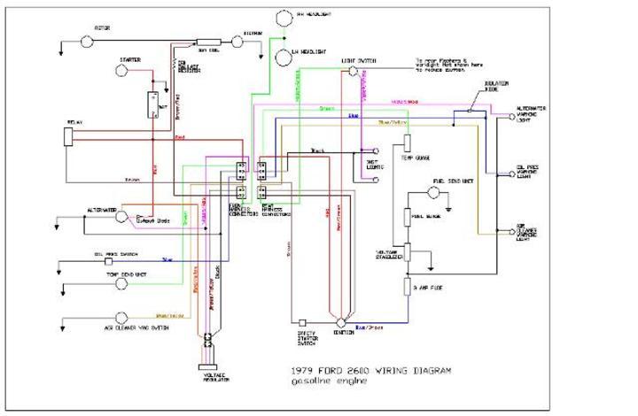John Deere 770 Wiring Diagram Ford 2600 Diesel Wiring Yesterday S Tractors