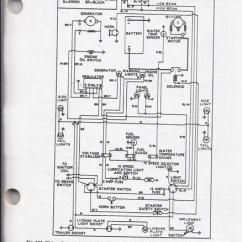 Ford 3000 Gas Tractor Wiring Diagram Simple Auto Electrical Re: 5000 Gauge Cluster Wiring..?? - Forum Yesterday's Tractors