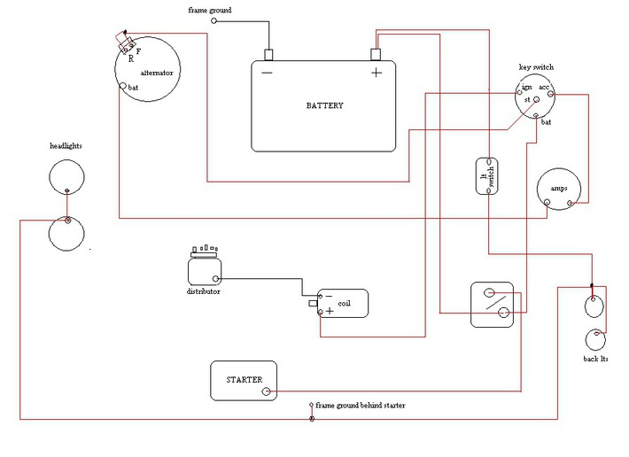 Farmall H Wiring Diagram Schematic Is This To 30 Wiring Correct Harry Ferguson Forum