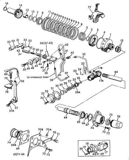 1720 Ford Tractor Transmission Diagram, 1720, Get Free