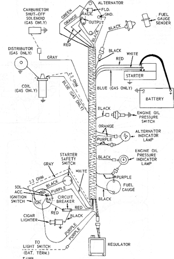 Wiring Diagram For 1020 John Deere