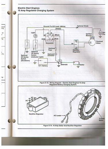 wheel horse wiring diagram 1980 kz1000 raider 12 free for you kohler k321 14hp charging system yesterday s tractors tractor ignition switch