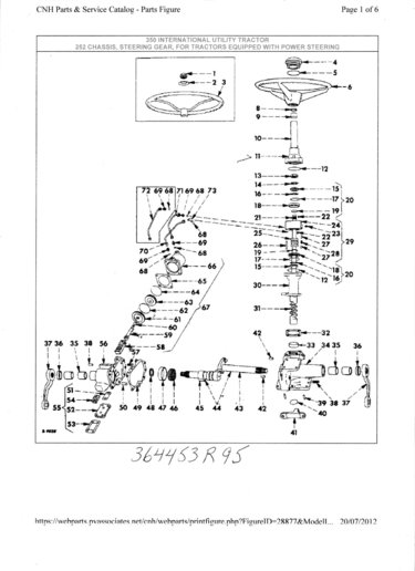 Ih 1066 Wiring Diagram International 350 Tractor Utility Yesterday S Tractors