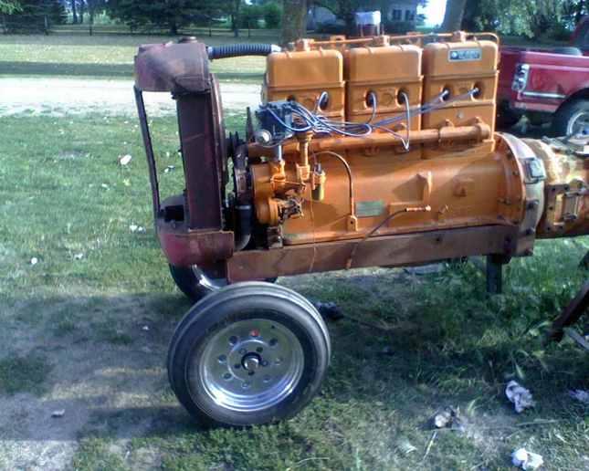 Farmall H Stroker Motor