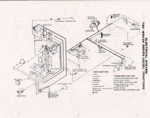 830 wiring diagram  Yesterday's Tractors