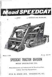 Used Farm Tractors for Sale: Mead Mighty Mouse M6 Crawler