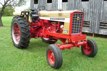 1066 International Tractor Wiring Harness Used Farm Tractors For Sale Ih 656 Gold Demonstrator