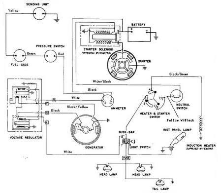 Ford 8n 6 Volt Alternator Wiring Diagram